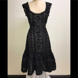 """SALE"" Oscar de la Renta Cocktail Lace Dress"